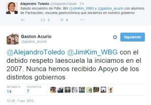 Tuits Toledo v. Acurio Web MZ