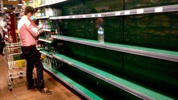 Foto escasez agua